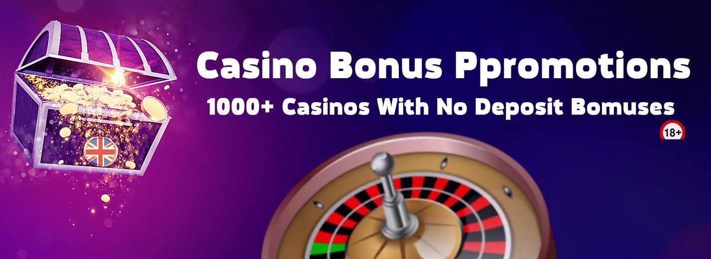 No Deposit Casino Bonus Promotions At Popular No Deposit Casinos